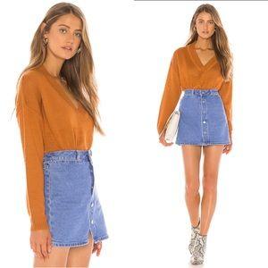 TULAROSA Hadley Sweater in Desert Orange
